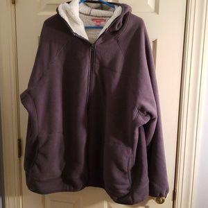 Woman Within Fleece Jacket